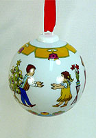 Christmas Ball 2008 Porcelain