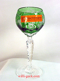 Grape Liqueur Hock emerald green 4.5 in