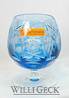 Nachtmann Grape Brandy Snifter aquamarine