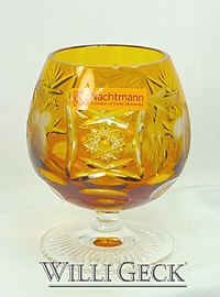 Nachtmann Grape Brandy Snifter amber
