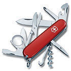 Pocket Knife Explorer, red, 91mm