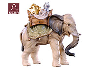 Farm Nativity Elephant with Gifts 3.54inch color