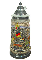 Relief Beerstein German Cities, 3/4L, 9.84inch