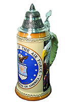 King Werk: US Air Force Beerstein 3/4L 10.6inch