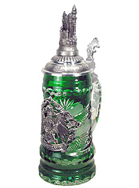 Limited Crystal Stein with Neuschwanstein Castle, 10.4inch