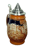 Beerstein relief Old Germany, 6.7 inches