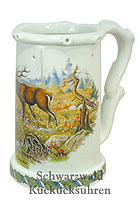 Beerstein Trick Mug The Stag 7.5 inch