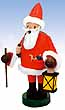 KWO Smoker Santa Claus 8.3 inches