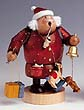 KWO Smoker Nostalgic Santa Claus 7.9 inches