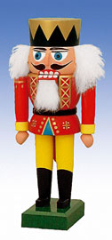 KWO Nutcracker King 7.5 inches