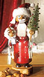 KWO Nutcracker Santa Claus Swarovski 13 inches