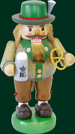 RG Nutcracker Octoberfest-Visitor, 13 inches