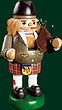RG Nutcracker Scotsman, 13 inches