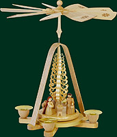 RG Pyramid Nativity, 11 inches