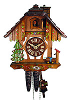 1-Day Cuckoo Clock Chimney Sweep 9inch