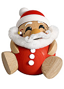 Chubby Smoker Santa Claus 6.7 inches
